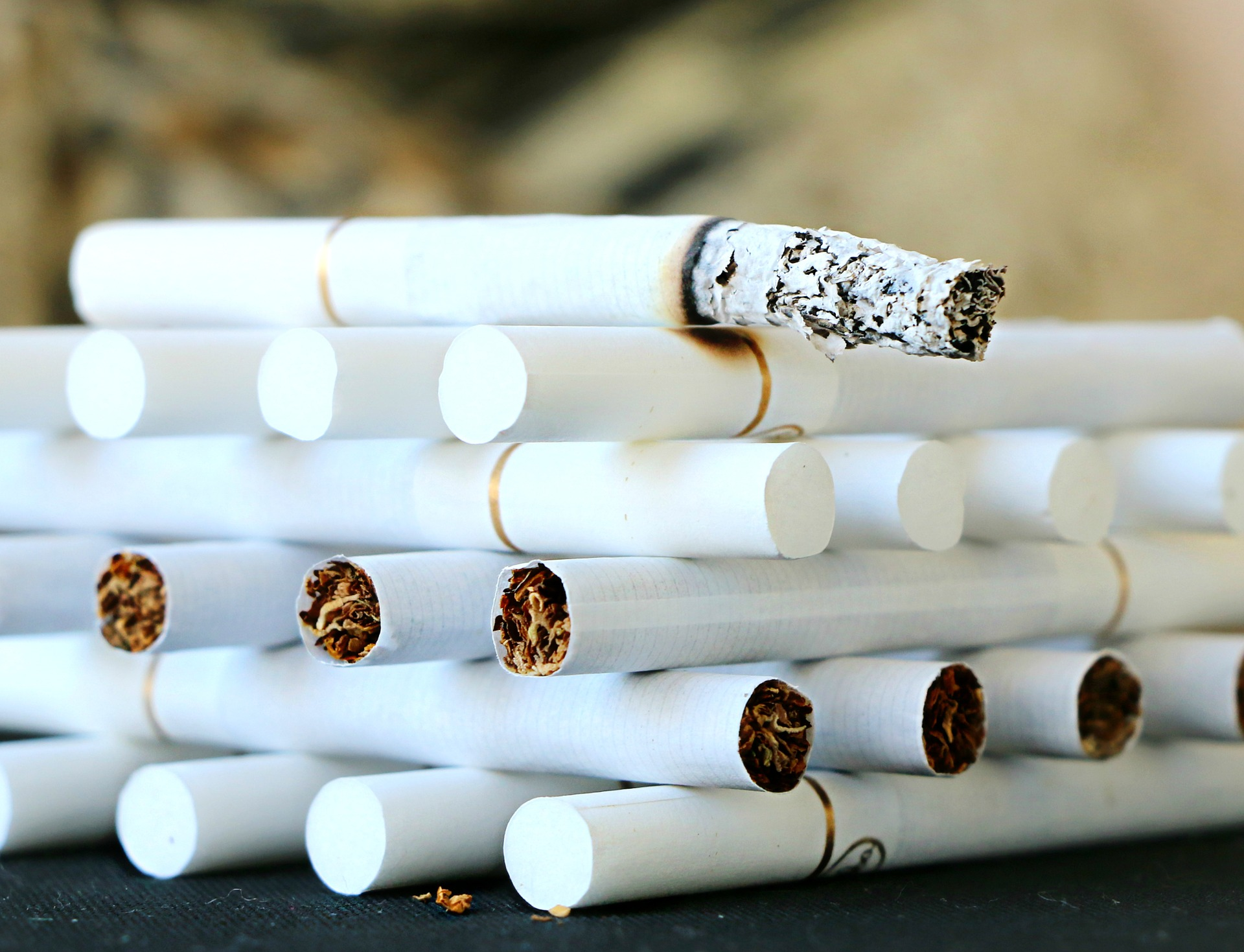 Diet for people quitting smoking