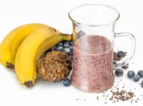 Smoothie Blueberry Banana  - stevepb / Pixabay